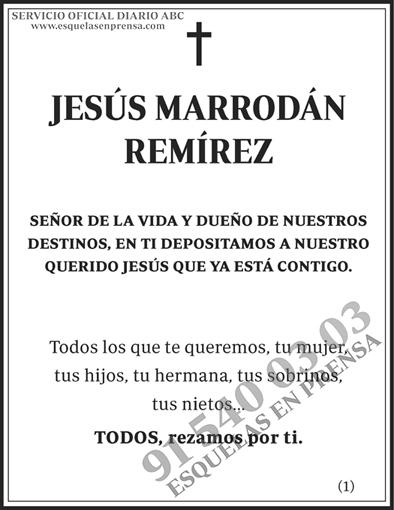 Jesús Marrodán Remírez